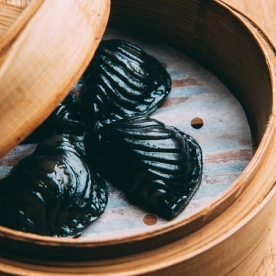 squid-ink-dumpling